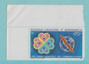 New Caledonia Scott #C-188A, World Communications Year Issue From 1983, MNH -...