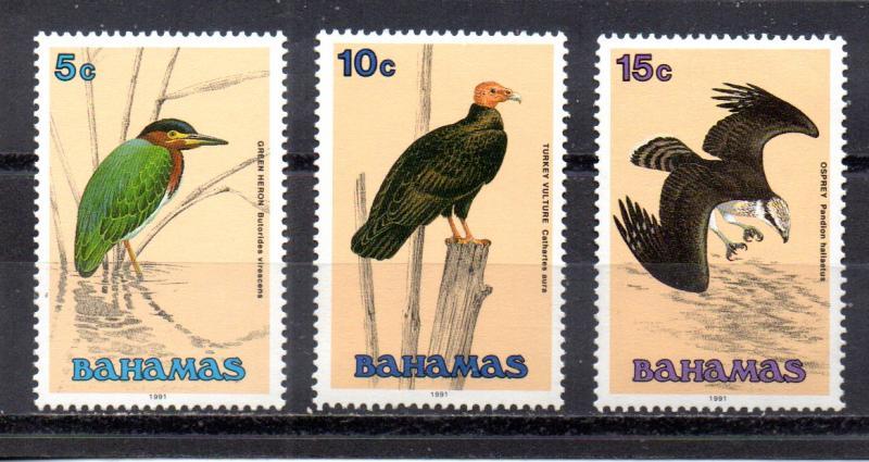Bahamas 709-711 MNH