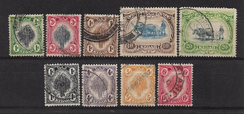 KEDAH  1912-40 Collection Used