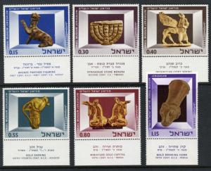 Israel  #323-328 MNH with Tabs