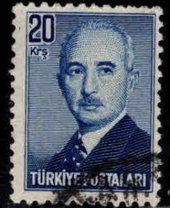 TURKEY Scott 972 Used stamp