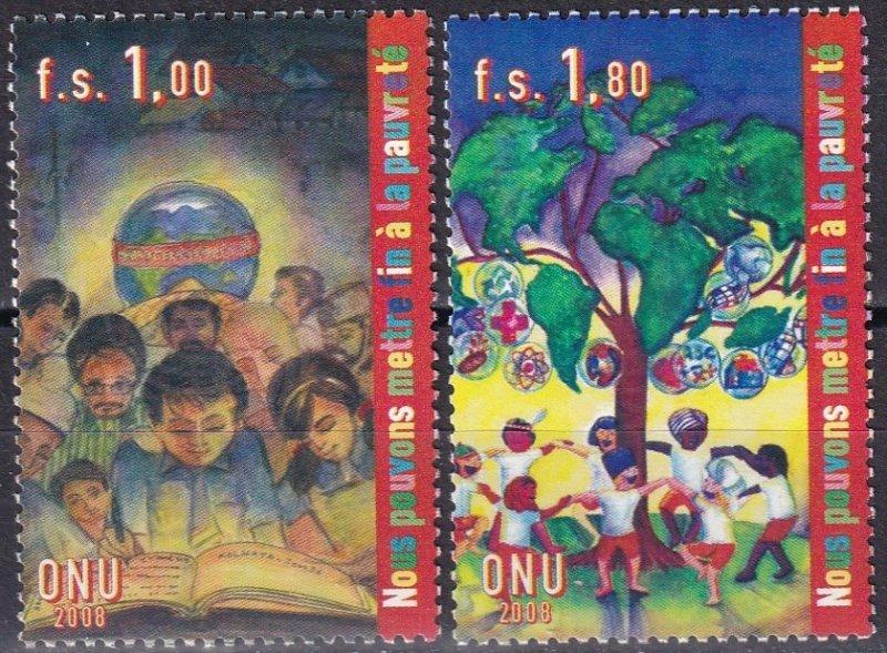 United Nations Geneva #490-91  MNH  CV $6.00  (Z5983)