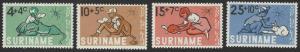 Suriname #B116-B119 MNH Full Set of 4
