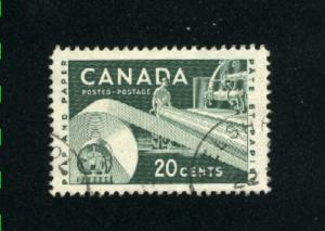 Canada  362  -1  used VF PD 1956