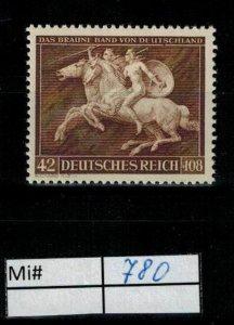 Deutschland Reich TR02 DR Mi 780 1939 Reich Postfrisch ** MNH