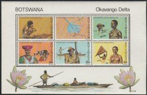 Botswana #220a MNH Souvenir Sheet