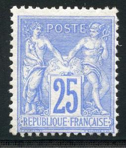 FRANCE SCOTT# 81 YVERT# 78 MINT HINGED AS SHOWN (HM)