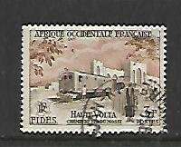 FRENCH WEST AFRICA, 67, USED, RAILROAD