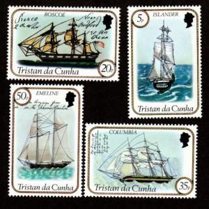 Tristan da Cunha 324-327 Mint NH MNH Ships!