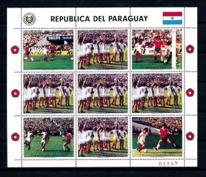 [60855] Paraguay 1986 World Cup Soccer Football Spain MNH