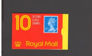 GB: Sc. BK1028 /**QEII- POUND 1.40 DEFINITIVES**/Folded Non-Window Booklet /MNH