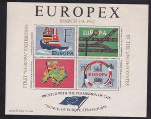 Philatelic Exhibition Labels, Lot of 5 Different labels
