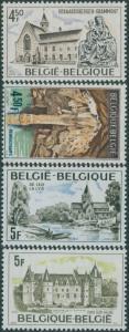 Belgium 1976 SG2452-2455 Tourist Publicity set MNH