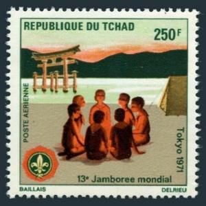 Chad C83,MNH.Michel 394. Boy Scout World Jamboree,1971.