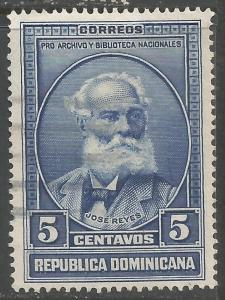 DOMINICAN REPUBLIC 314 VFU S888-2