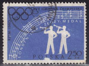 Poland 918 Olympic Trumpeters 1960