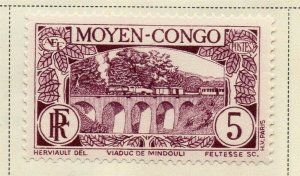 Middle Congo 1933 Early Issue Fine Mint Hinged 5c. 324743