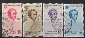 COLLECTION LOT OF # 838 ITALY # 349-52 1935 CV+$40