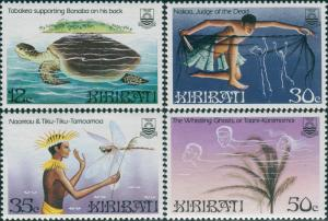 Kiribati 1984 SG228-231 Legends set MNH