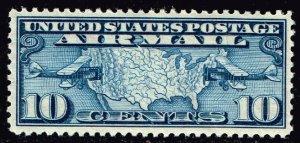US STAMP BOB AIR #C7 – 1926 10c Airmail Perf 11 MNH/OG