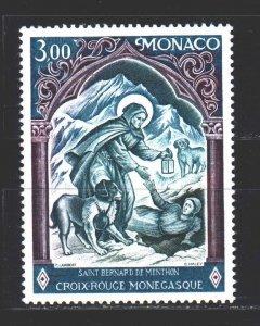 Monaco. 1974. 1113. Rescue, medicine, dogs. MNH.