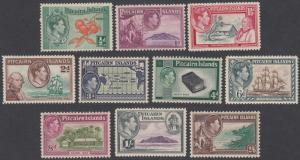 Pitcairn Islands 1-8 MH CV $75.90