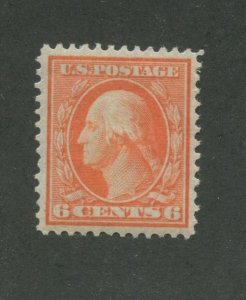 1909 United States Postage Stamp #336 Mint Hinged VF Original Gum