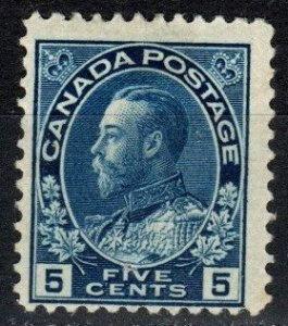 Canada #111 F-VF Unused CV $175.00 (P799)