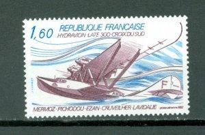 FRANCE SEAPLANE  #C55...MNH...$0.80