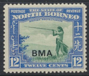 North Borneo  SG 327 SC# 215 MLH  OPT BMA  See scans / details