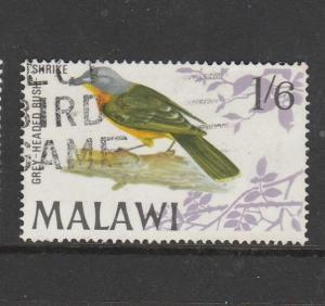Malawi 1968 Bird defs, 1/6 Used SG 317