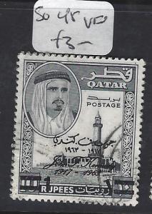 QATAR   (P0503B)  KENNEDY 1R/10R  SG 45   VFU