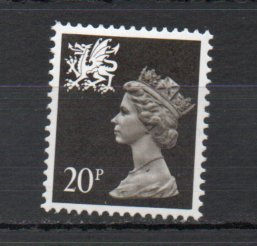 Great Britain - Wales WMMH38 MNH