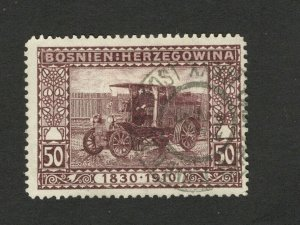 BOSNIA - AUSTRIA - USED STAMP , 50h -1910.