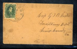 CSA #1 USED ON COVER Cat $300