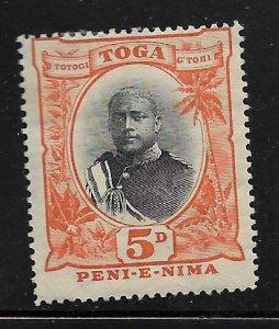 TONGA, 45, MINT HINGED, GEORGE II,