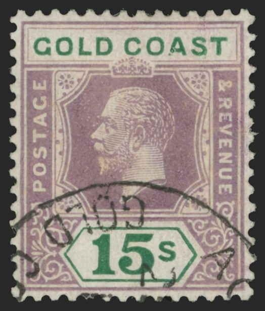 Gold Coast Scott 94a Gibbons 100a Used Stamp