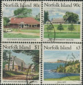 Norfolk Island 1987 SG415-419 Scenes FU