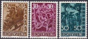 Liechtenstein  #353-5  F-VF Unused   CV $19.50  (Z5183)