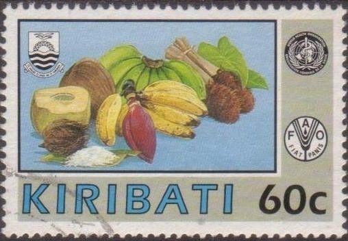 Kiribati 1992 SG392 60c Fruit FU