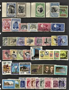STAMP STATION PERTH Costa Rica #43 Mint / Used Selection - Unchecked