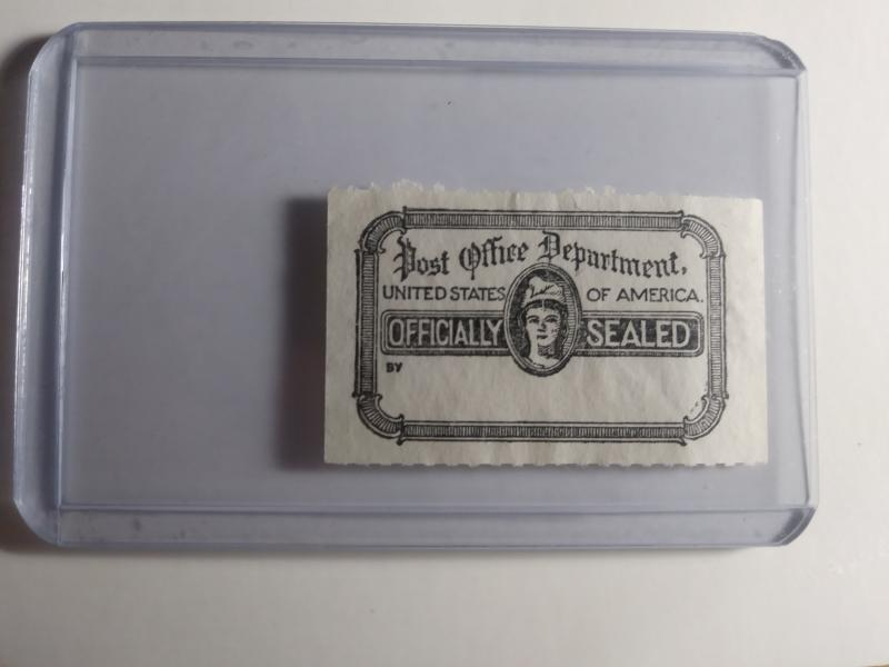 SCOTT # OX21 USED OFFICIAL POST OFFICE SEAL