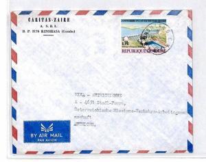 CM341 *ZAIRE* Missionary Air Mail MIVA Austria Cover