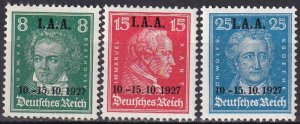 Germany #363-5 F-VF Unused  CV $49.50 (Z4838)
