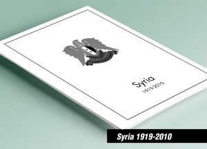 PRINTED SYRIA 1919-2010 STAMP ALBUM PAGES (290 pages)