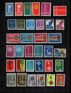 Worldwide Europa  31 diff MNH
