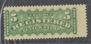 Canada #247i MINT XF NH re-entry on Lower Stp + Guide Line variety Error