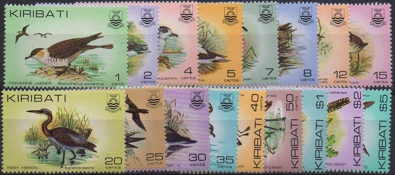 Kiribati 1982 SG163-178 Birds set MLH