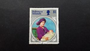 Solomon Islands 1985 Life and Times of Queen Elizabeth the Queen Mother