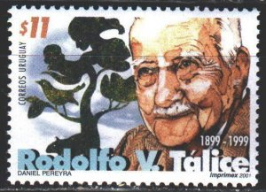 Uruguay. 2001. 2594. Talis, doctor, scientist and writer. MNH.